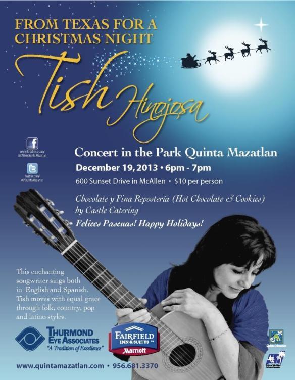 Tish Hinojosa Christmas Concert 2013