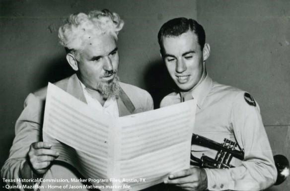 Matthews with cadet