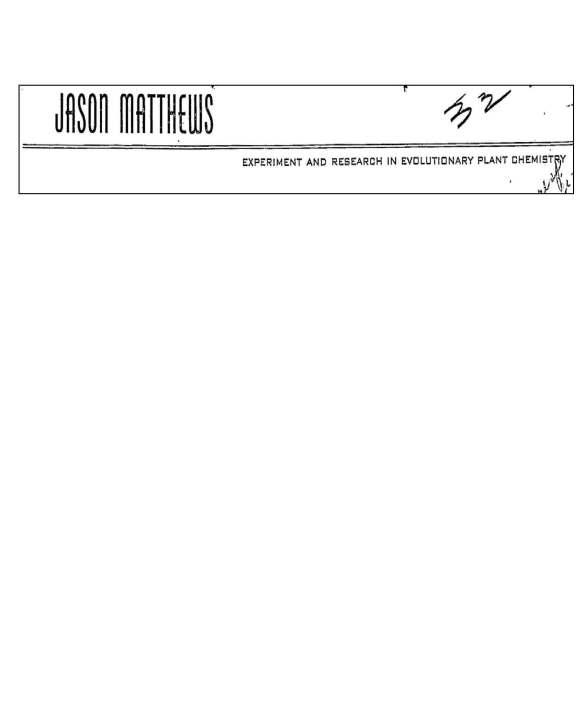 JM letterhead